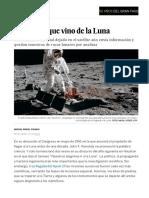 Misión Espacial Del Apolo 11- La Ciencia Que Vino de La Luna - Ciencia - EL PAÍS