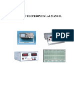 Basic Electroniclab Manual