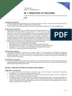c1-Principles of Teaching