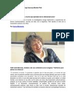 Michèle Petit- La Rentabilidad Inmediata