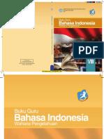 Buku Pegangan Guru Bahasa Indonesia SMP Kelas 8 Kurikulum 2013