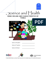 Science 3 DLP 2 - Sense Organs and Characteristics of Things(1)