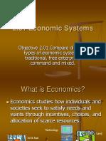 2.01 Economic Systems