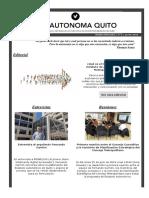 Boletín Nº3 Vía Autónoma
