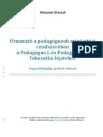 4-5 ÖSSZEHASONLÍTÁS Útmutató a Pedagógusok Minősítési Rendszeréhez