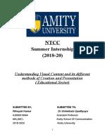 NTCC Internship Report_Winayak