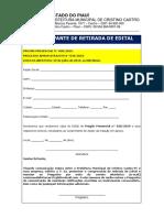 Edital-PP Nº 028-2019-Confecção de Camisas e Serviços de Serigrafia-PMCC