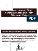 2.14 Point, Line and Strip Surcharge Loads and Their Effects on Walls