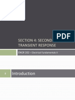 SECTION 4 Second Order Transient Response
