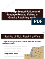 Deep-Seated Failure and Seepage Related Failure