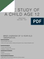 case study age 12