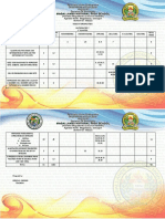 Table of Specification Grade 7