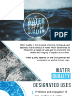 Water Supply Quality