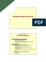 Excel Sensitivity Explained