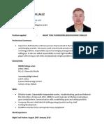 Jmv Resume
