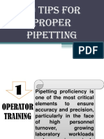 10 Tips for Proper Pipetting