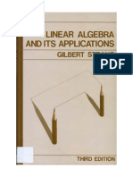 Linear Algebra by Gilbert Strang