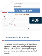 Macro I. Unidad IV. Modelo is-LM