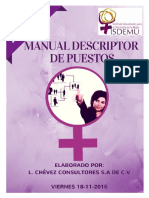 Manual Descriptor de Puestos Isdemu
