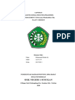 Laporan PKL Mengganti Universal Joint.docx