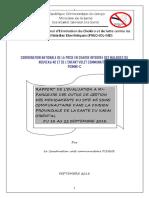 Rapport de l'Evaluation à Mi-parcours Des Outils Sop Des Ssc Dans La Dps Du Kasai Oriental Avec l'Appui Save the Children Zs Tshishimbi en Graphique