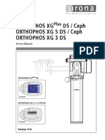 Sirona Orthophos XG Dental X-Ray - Service Manual (1)