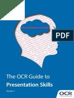 OCR Guide to Presentation Skills