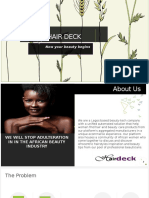 Pitch Deck HAIRDECK