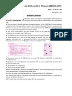 PRMO 2012 to 2018 paper pdf