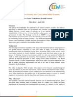 CEEW - Mineral Resource Security for a Low-Carbon Indian Economy Policy Brief - 21Apr16