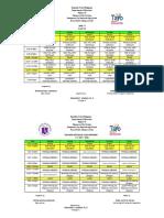 Class Program 2017-2018