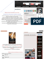 99bloguri Premiaza recomandarea Unei Carti Citite