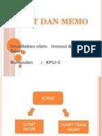 Surat & Memo