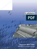 Vacuum Belt Filter Leiblein