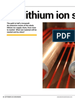 Distribution Lithium Ion Supply Chain