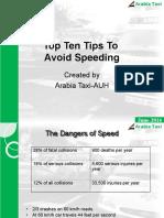16.Avoid Speeding