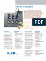 Eaton's solution to arc flash