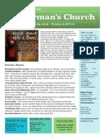 st germans newsletter - 28 july 2019 - trinity 6