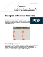 pronounds