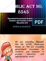 Republic Act No. 8545