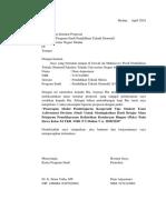 Surat Permohonan Seminar