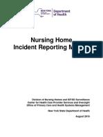 Nursing Home Incident Report