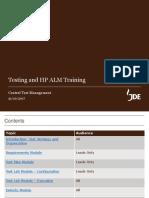 JDE_Kauri_CTM_Testing & ALM Training for ALL Users