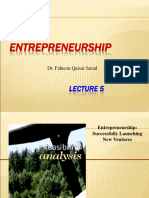 _Lect5 Entrepreneurship - Feasability-1
