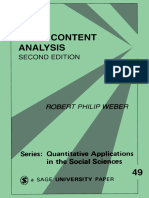 [Robert Philip, Weber] Basic Content Analysis(B-ok.cc)