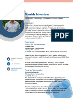 Manish Srivastava Tech