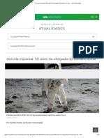 Corrida Espacial_ 50 Anos Da Chegada Do Homem à Lua - - UOL Educação