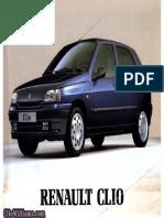 Manual de Propietario Clio 1998