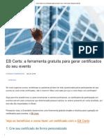 1 - Como Fazer Um Certificado Para Evento_ Use o EB Certs _ Blog Eventbrite