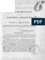 Manuel María Madiedo Ideas Fundamentales de Los Partidos Políticos